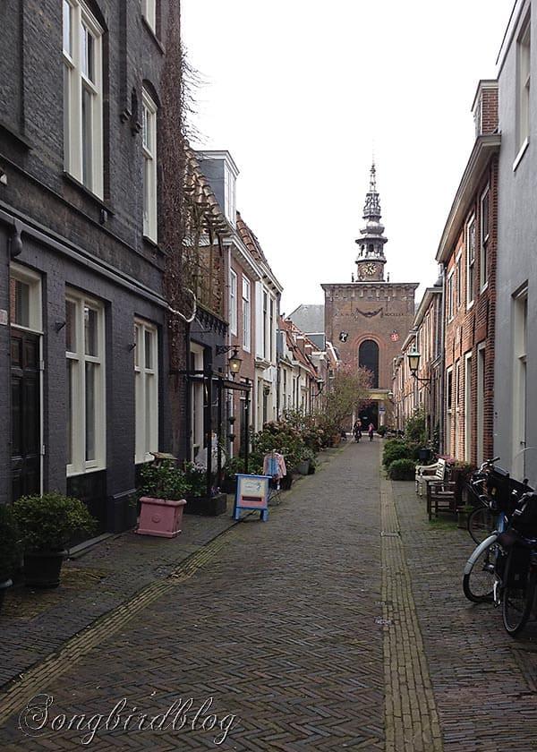 Haarlem cobbled street
