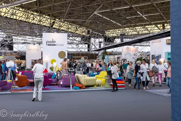 "Design trends and home decor inspiration at the ""Woonbeurs Amsterdam"" a residential living event. Get inspired and see what the five hottest design trends are right now."