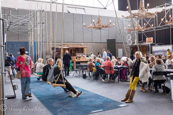 "design trends at the ""Woonbeurs Amsterdam"" a residential living event"