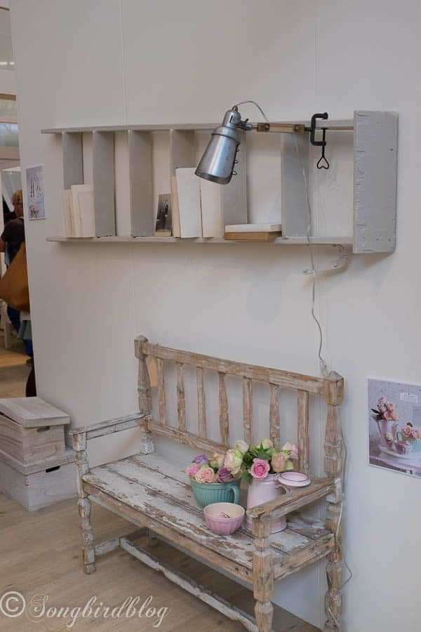 """design trend: rustic romance. Image captured at the """"Woonbeurs Amsterdam"""" a residential living event"""