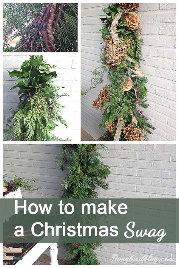 How to make a Christmas swag
