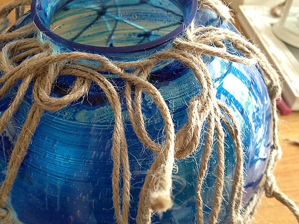 How to make large glass buoys 1