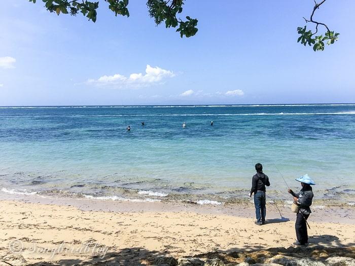 Holiday in Bali. Sanur beach