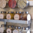 kitchen organization in the pantry