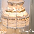 romantic lampshade makeover