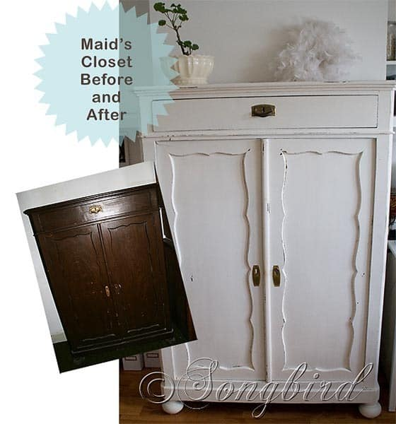 Maid's Closet Before & After