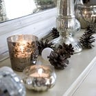 Natural & silver Christmas Decor