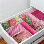 Office Drawer Organizing DIY