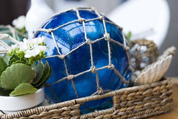 how to make large glass shipping buoys