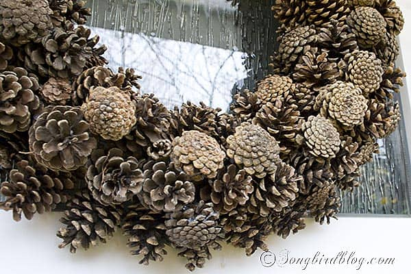 Pine Cone Wreath craft