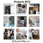 Best of the Nest 2012. Furniture Makeovers, Mantel Decorating and Beach Decor.