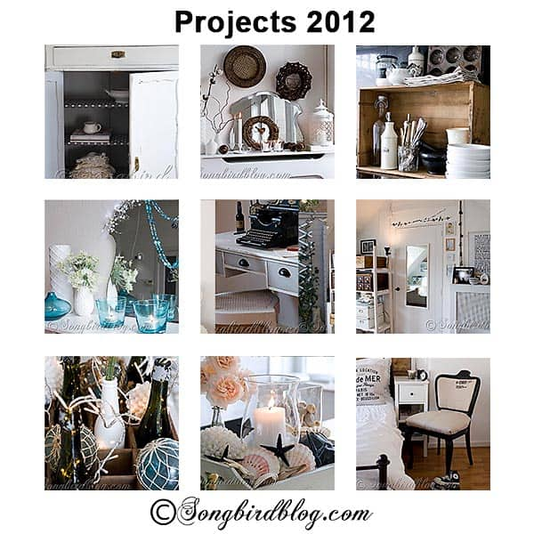 top decorating and furniture makeover projects 2012 songbird