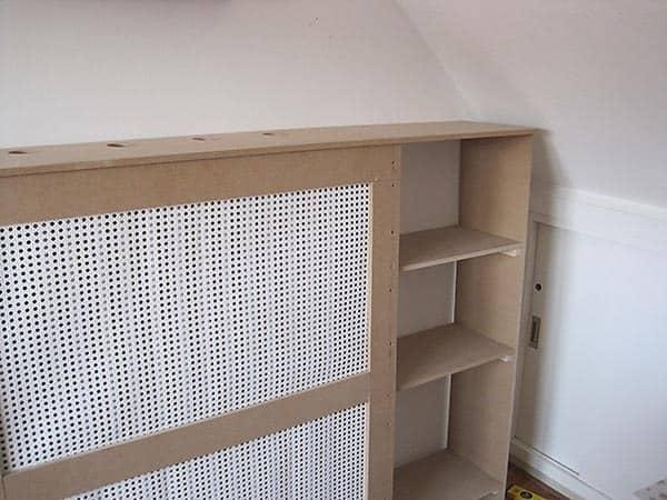 Save. A radiator cover / book shelf ...