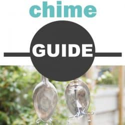 silverware wind chime guide