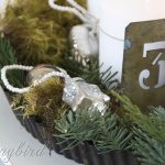 Advent Decoration ~ 12 days of Christmas Decorations / Day 1