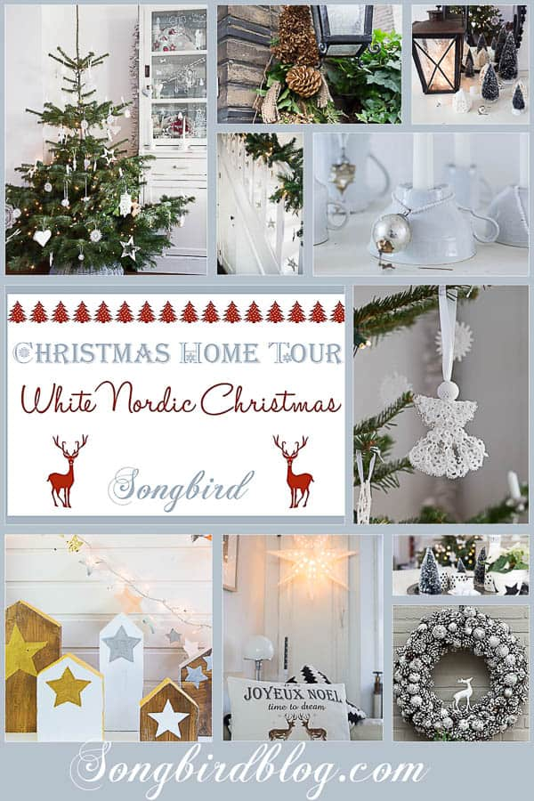 Songbird Christmas Home Tour White Nordic Christmas-1