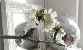 Let's Boogie! {Spring Mantel Decoration}
