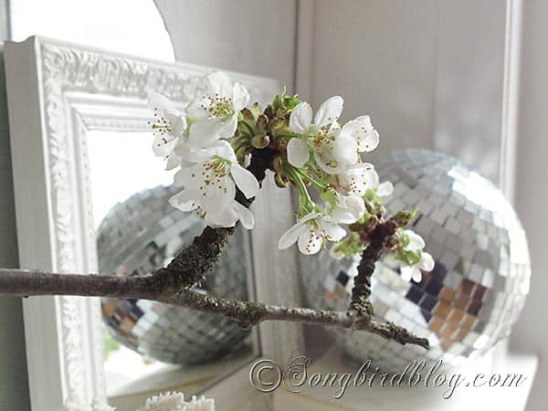 Spring mantel decoration disco ball 7
