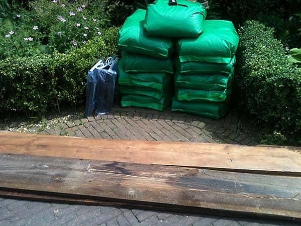 Square foot gardening supplies