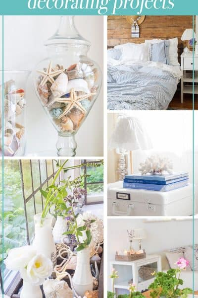 Summer Home Tour collage