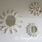 Sunburst Mirror Before