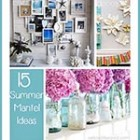 Thumb 15 summer mantel ideas
