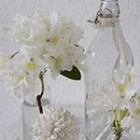 easy flower decorating in white