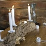 Tree Trunk Candlestick