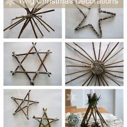 how to make stars and candle sticks for Christmas with twigs and natural elements (8)