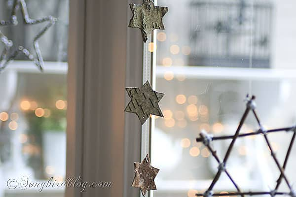 how to make stars and candle sticks for Christmas with twigs and natural elements (7)