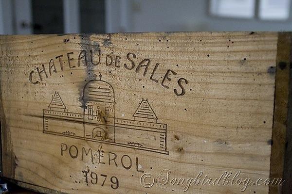 Vintage Wine Box 1