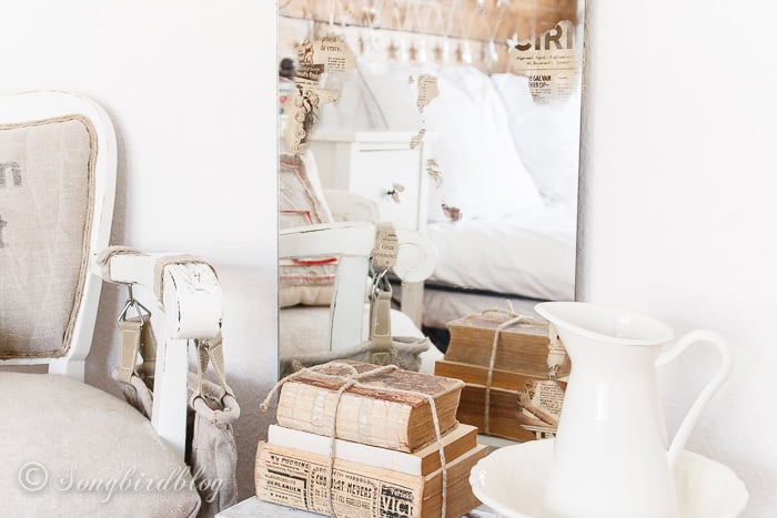 how to antique a mirror and make it look old