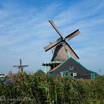 See the Windmills spin at Zaanse Schans in Holland