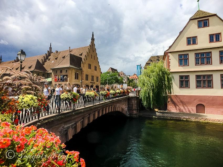 Strasbourg, France, Pont du Corbeau