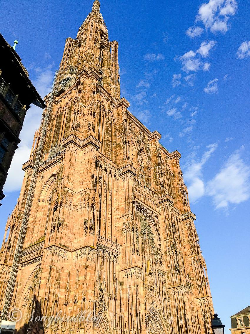 Strasbourg, France, notre Dame Cathedral