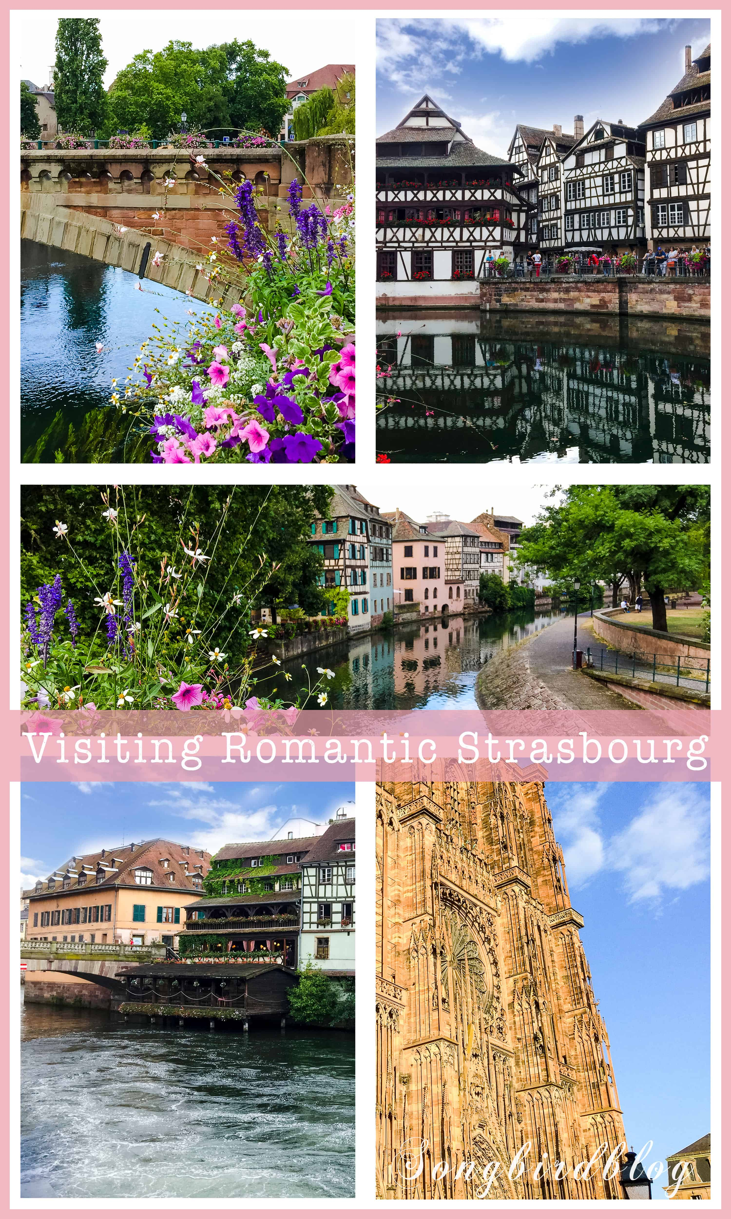 Strasbourg in France is a beautiful, romantic destination for a weekend trip or short vacation. Make sure you visit it if you are staying in the Alsace region. #Strasbourg #France #weekend trip #travel #europe #cities #romantic
