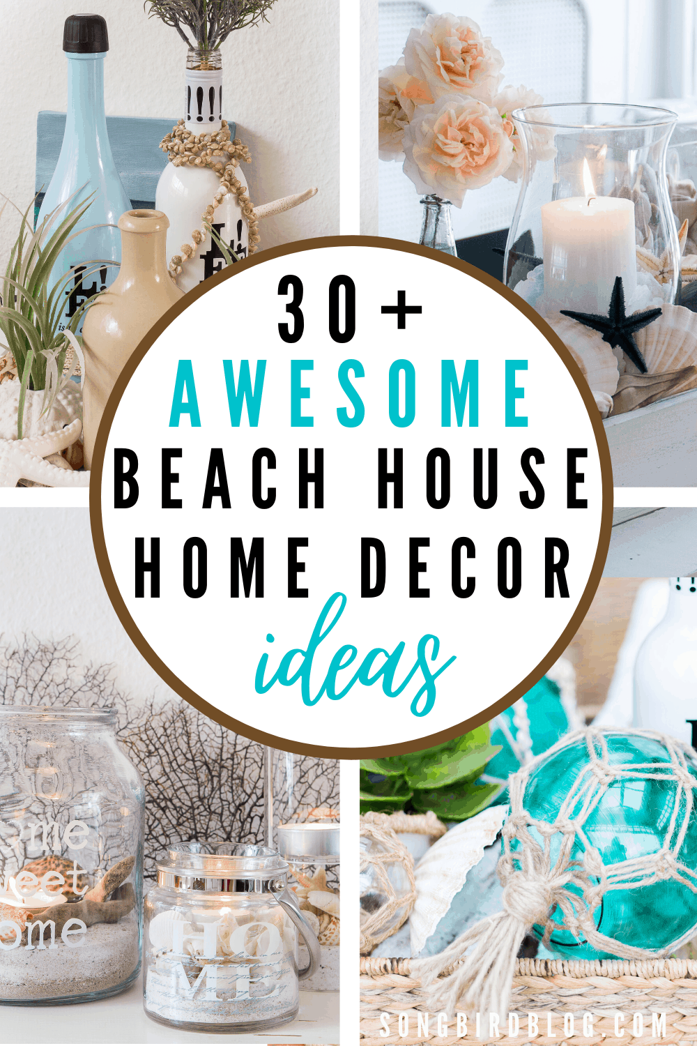 Image of: 30 Best Diy Beach Cottage Decorating Ideas Songbird