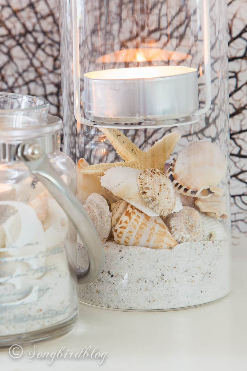 summer beach lanterns diy