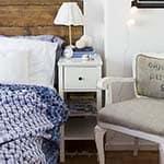 Blue Blanket Bedroom Decor