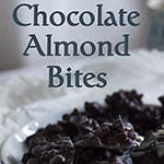 Let's have a snack!  Almond Chocolate Bites