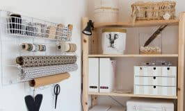 Squeal a Room Reveal. Craft room tour