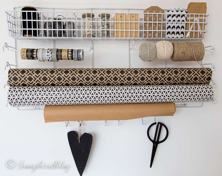 craft room tour organization ideas solutions gift wrapping storage