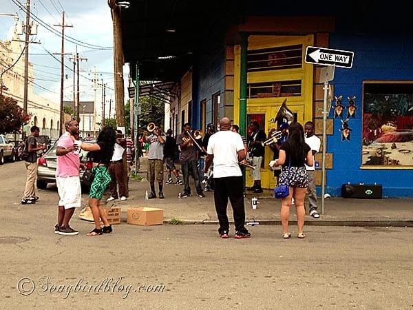 dancing street New Orleans