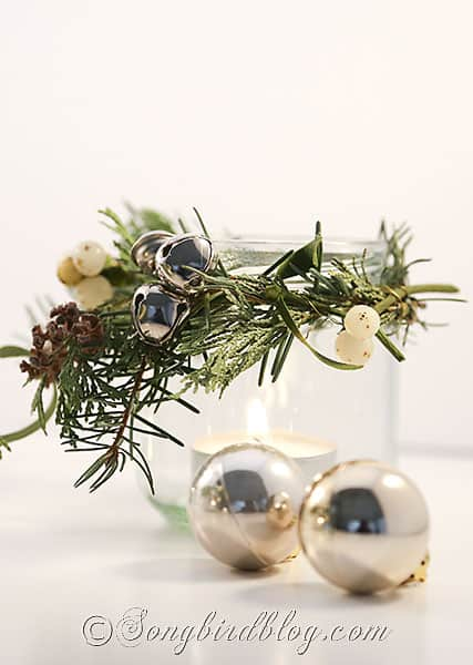 glass jar lanters Christmas decorations (3)