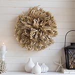 diy juju hat mantel decoration via Songbirdblog thumb
