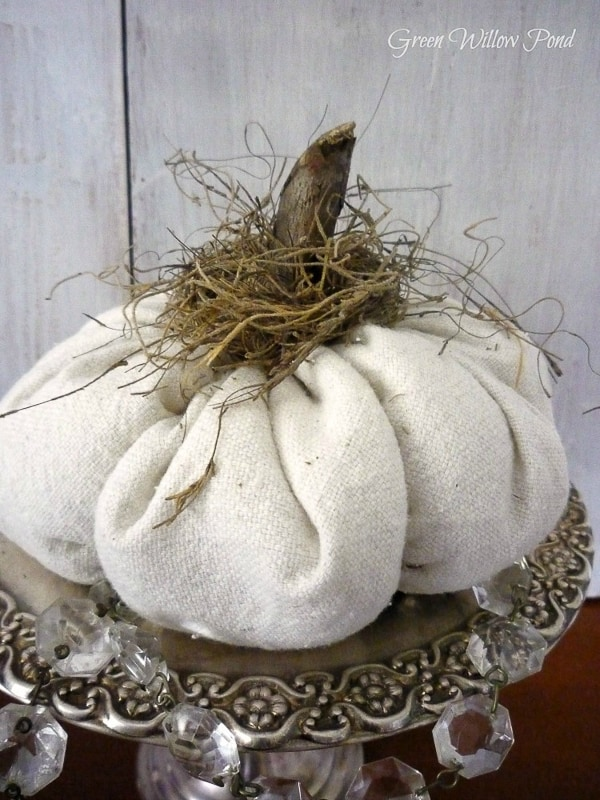 drop cloth pumpkin_