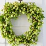 Making a Fall Hop Wreath