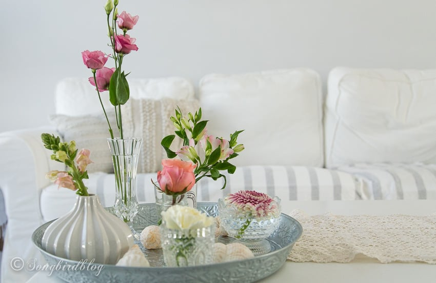 10 minute flower arranging idea