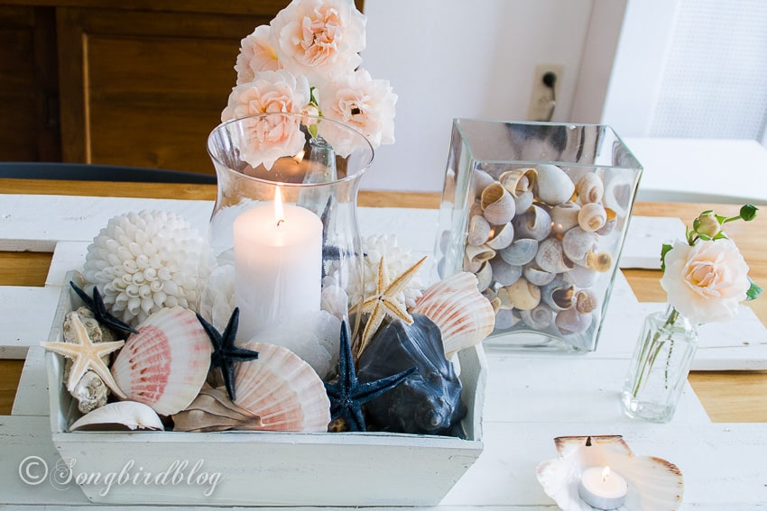 easy nautical summer centerpiece