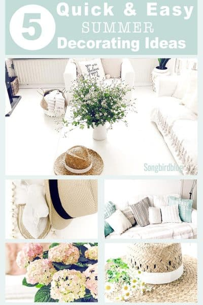 easy summer decorating tips